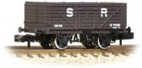 Graham Farish 377-089 7 Plank Fixed End Wagon SR Brown